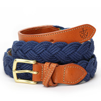 Braided Rope Belt - Hortock's Compass Rose - by Kiel James Patrick