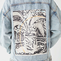 Thrush Holmes X UO Denim Trucker Jacket | Urban Outfitters