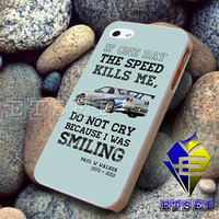 Paul Walker Tribute GTR Design For iPhone Case Samsung Galaxy Case Ipad Case Ipod Case