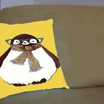 Skin Penguin animal - Pillow Case, Pillow Cover, Custom Pillow Case **