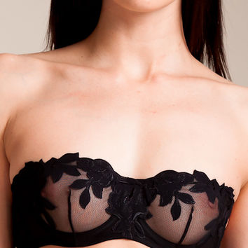 La Perla: Ninfea Strapless Bra at Nancy Meyer