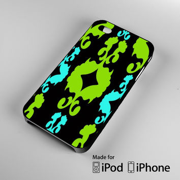 Funky Neon Pattern A1265 iPhone 4 4S 5 5S 5C 6, iPod Touch 4 5 Cases