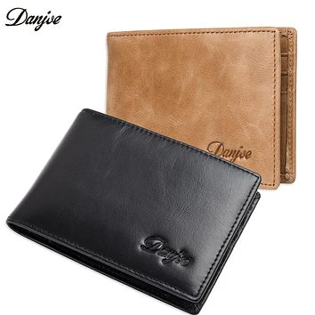Men Money Clips Real Genuine Leather Slim Credit Card Dollar Clip Wallet Natural Cowhide Thin Daily Male Purse