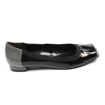 Nine West Womens Heeled Ballerina Open Toe NWRANISE BLK MEGYMULT
