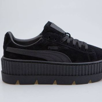 Puma x Fenty By Rihanna Women Cleated Creeper Suede black 366268-04