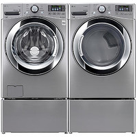 LG 4.3 cu. ft. Ultra Large Capacity Front Load Washer & 7.4 cu. ft. Ultra Large Capacity Dryer - Appliances - Washer and Dryer Sets - Washer and Dryer Bundles