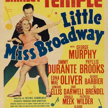Little Miss Broadway 11x17 Movie Poster (1938)