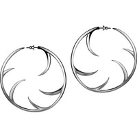 Shaun Leane 'Multi Cat Claw' hoop earrings