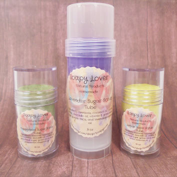 Sugar scrub tube, sugar scrub, body scrub, body lotion scrub, body balm scrub, natural sugar scrub, homemade sugar scrub, organic scrub