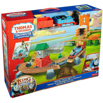 thomas & friends track master castle quest set