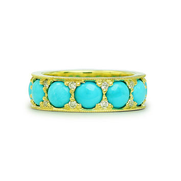 Cay Turquoise Diamond Ring