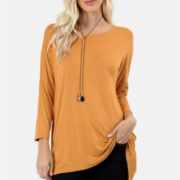 Darling Dolman High-Low Tunic Top - 11 Colors!