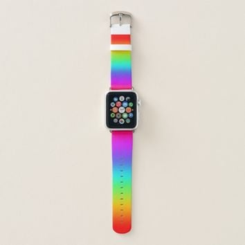 Rainbow Color Fade Apple Watch Band