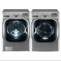 Walmart: LG Graphite 5.1 Cu Ft Front Load Steam Washer and 9.0 Cu Ft Steam Electric Dryer