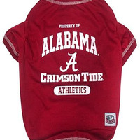 Alabama Crimson Tide Pet Shirt MD