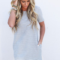 Keep It Casual Striped Dress