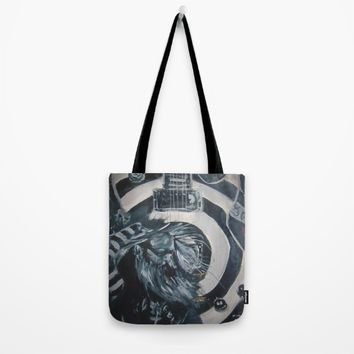Black Label Tote Bag by Tony Silveira