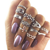 Shiny Jewelry New Arrival Gift Stylish Floral Accessory Ring [10437011405]
