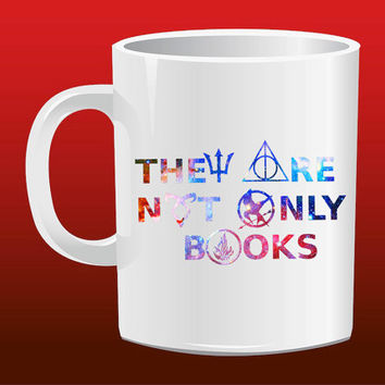 They Are Not Only Book for Mug Design