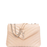 Saint Laurent Loulou Medium Soft Chain Satchel Bag