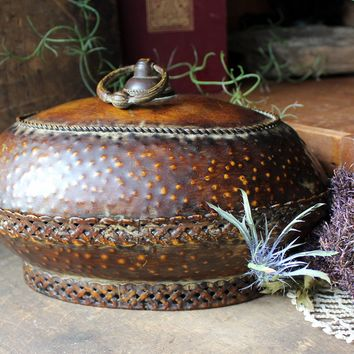 Decorative Lidded Container