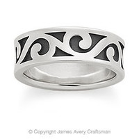 Gentle Wave Band from James Avery