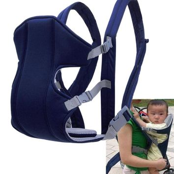 Multifunctional Front Facing Baby Carrier Sling Mesh Backpack Pouch Wrap Baby Kangaroo Carrying For Children Toddler Slings
