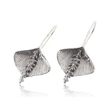 25% Reduced - Peace Lily Flower Earring