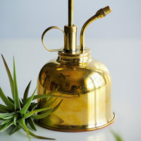 Authentic Brass Plant Mister - FREE air plant within US, planter, watering can, plant care, succulent care, home decor, modern