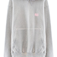 VFILES SHOP | VFILES BASICS HOODIE | GREY-PINK by @VFILES