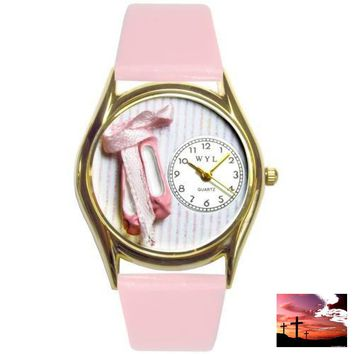Ballet Shoes Watch Small Gold Style