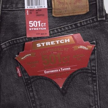 Levi's 501 CT Women's Customized & Tapered Stretch Jeans