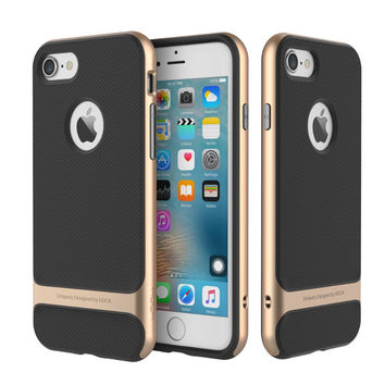 For iPhone 7 7 Plus Case ROCK Royce Series Protection Cases Colorful Phone Shell Slim Build Back Cover
