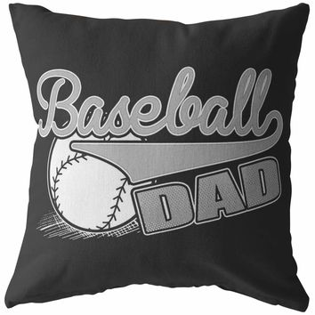 Baseball Pillows Baseball Dad