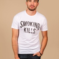 Smoking Kills T-shirt by Chaser LA - ShopKitson.com