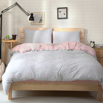 Bedroom On Sale Hot Deal Cotton Bedding Knit Bedding Set [11665651151]