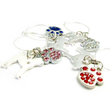 Paw Wine Charms Gift Set