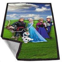 frozen 2 aca4682e-c2ac-42d1-b223-e24aa361fd2a for Kids Blanket, Fleece Blanket Cute and Awesome Blanket for your bedding, Blanket fleece *02*