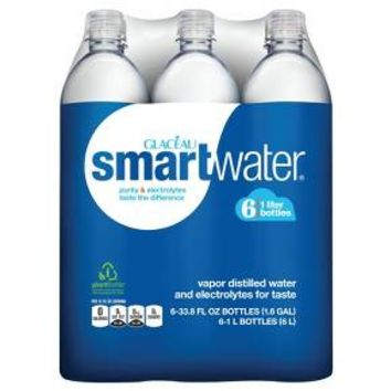 Smartwater Electrolyte Enhanced Water 33.8 oz, 6 pk