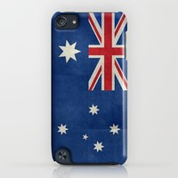 The National flag of Australia, retro textured version (authentic scale 1:2) iPhone & iPod Case by LonestarDesigns2020 - Flags Designs +