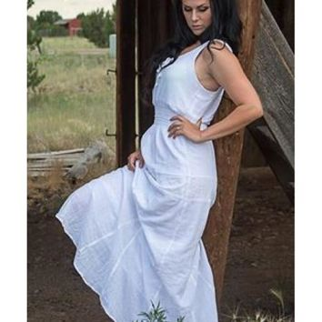 Clothilde Maxi Dress Made in USA