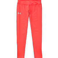 Under Armour 7-16 Sonic Solid Leggings - Neo Pulse/Silver