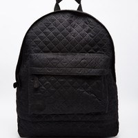 Mi-Pac Quilted Backpack in Black