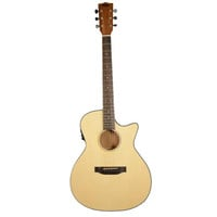 Kala KA-GTR-SMTS-E Thinline Spruce Top Acoustic-Electric Steel String Guitar