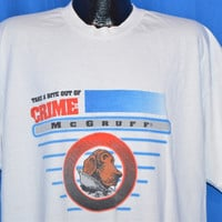 90s McGruff Take a Bite Out of Crime t-shirt Extra-Extra-Large