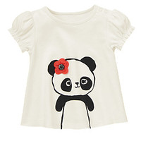 Front and Back Panda Top