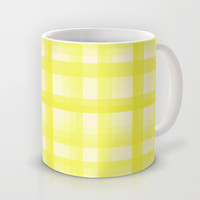 Country Plaid Citrus Mug by Lisa Argyropoulos