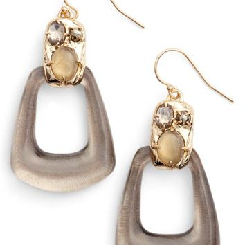 Alexis Bittar Lucite® Smoky Quartz Drop Earrings | Nordstrom