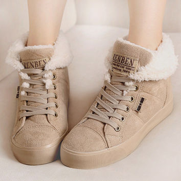 Fashionable Women's Winter Shoes