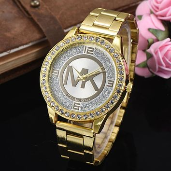 8DESS Michael Kor MK Women Fashion Quartz Movement Wristwatch Watch
